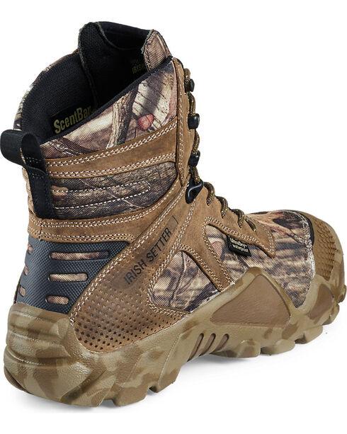 "Red Wing Irish Setter Mossy Oak Vaprtrek Waterproof 8"" Boots , Camouflage, hi-res"