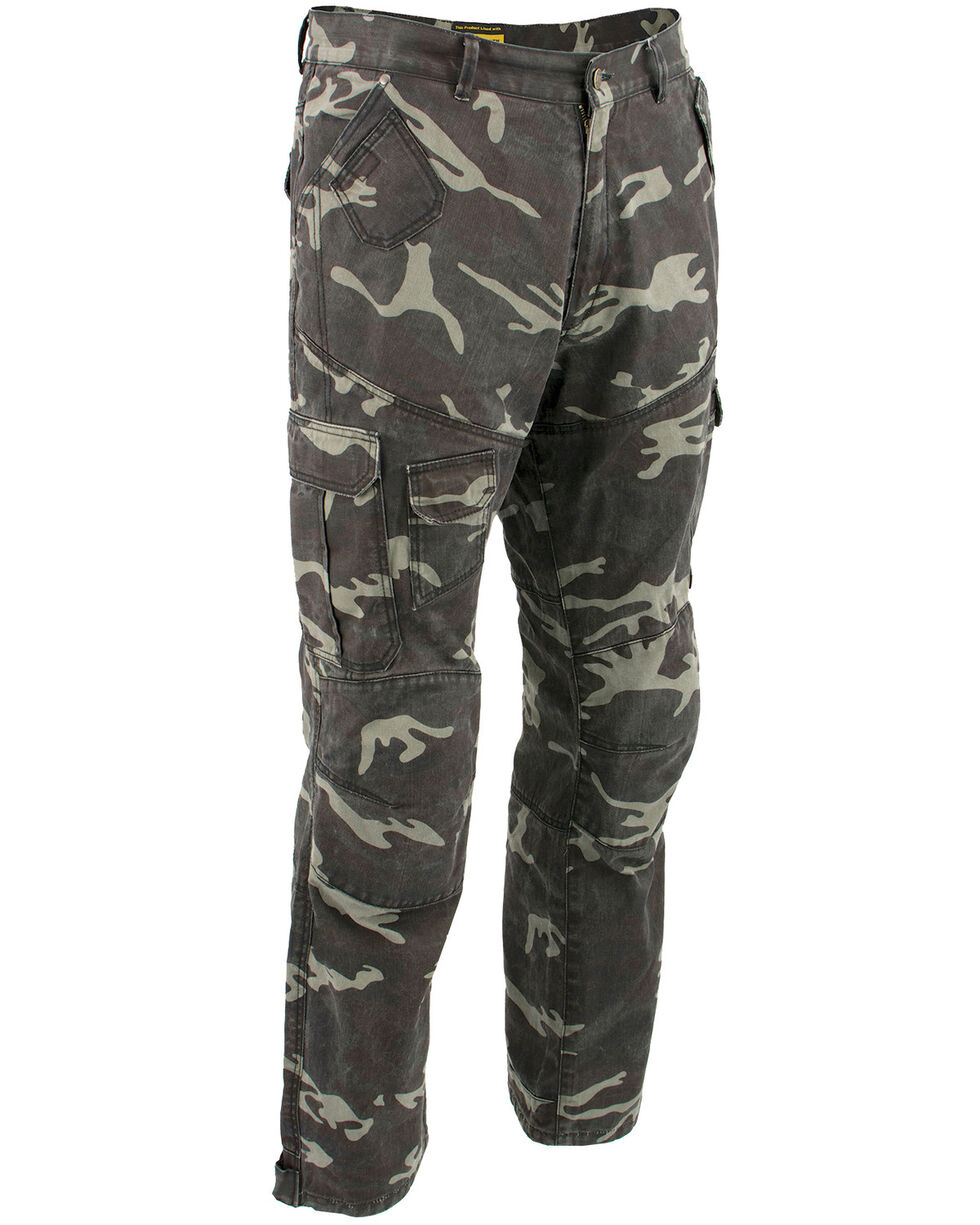 "Milwaukee Performance Men's 32"" Aramid Reinforced Camo Cargo Jeans - XBig, Camouflage, hi-res"