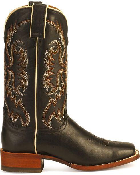 Nocona Women's Calf Western Boots, Black, hi-res