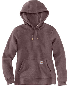 Carhartt Women's Clarksburg Pullover Sweatshirt , Medium Purple, hi-res