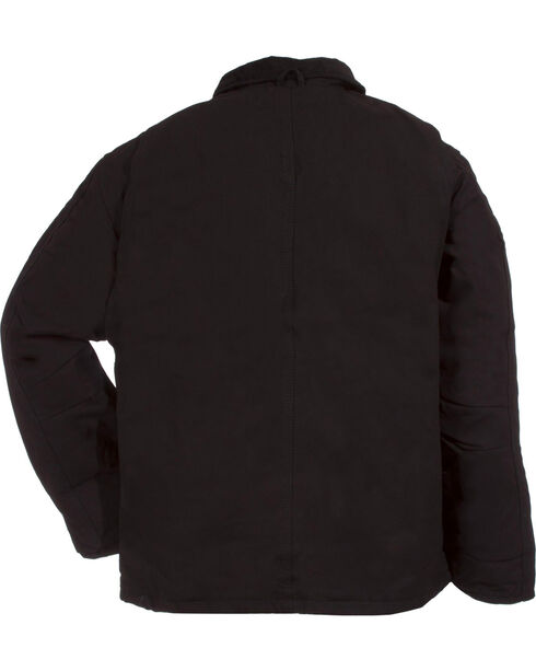 Berne Duck Original Chore Coat - 3XT and 4XT, Black, hi-res
