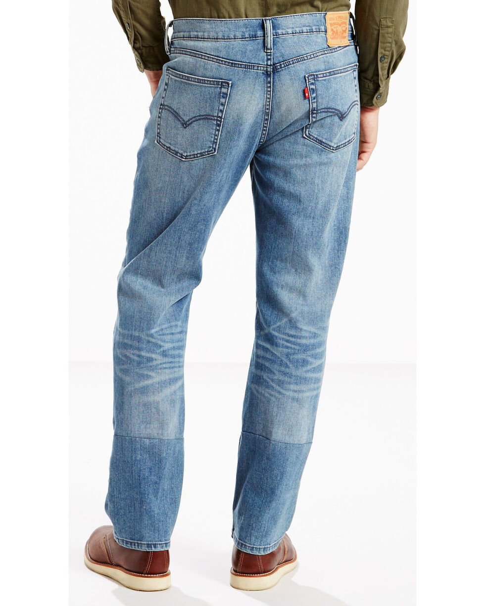 Levi's Men's 514 Slim Fit Jeans - Straight Leg , Indigo, hi-res
