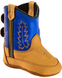 Jama Infant's Old West Poppets Western Booties, , hi-res