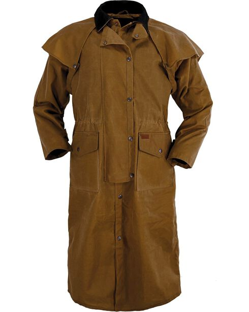 Outback Trading Co. Stockman Waterproof Duster, Tan, hi-res