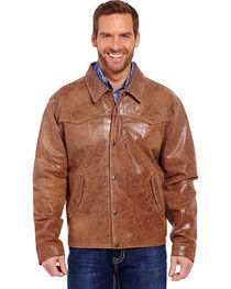 Cripple Creek Men's Hand Sanded Snap Front Jacket, , hi-res