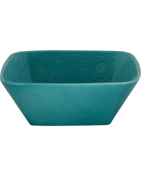 HiEnd Accents Savannah Serving Bowl, Turquoise, hi-res