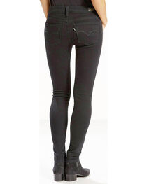 Levi's Women's Soft Black 535 Super Skinny Jeans , , hi-res