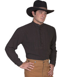 Rangewear by Scully Classic Pleated Bib Inset Frontier Shirt, , hi-res