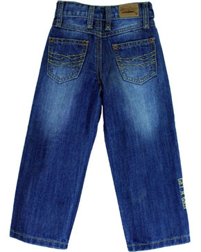 Cowboy Hardware Toddler Boys' Double Barbed Wire Medium Wash Jeans (12MO-4T), Indigo, hi-res