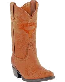 Gameday Boots Girls' University of Texas Western Boots - Medium Toe, , hi-res
