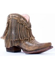Junk Gypsy by Lane Women's Tan Spitfire Boots - Snip Toe, , hi-res