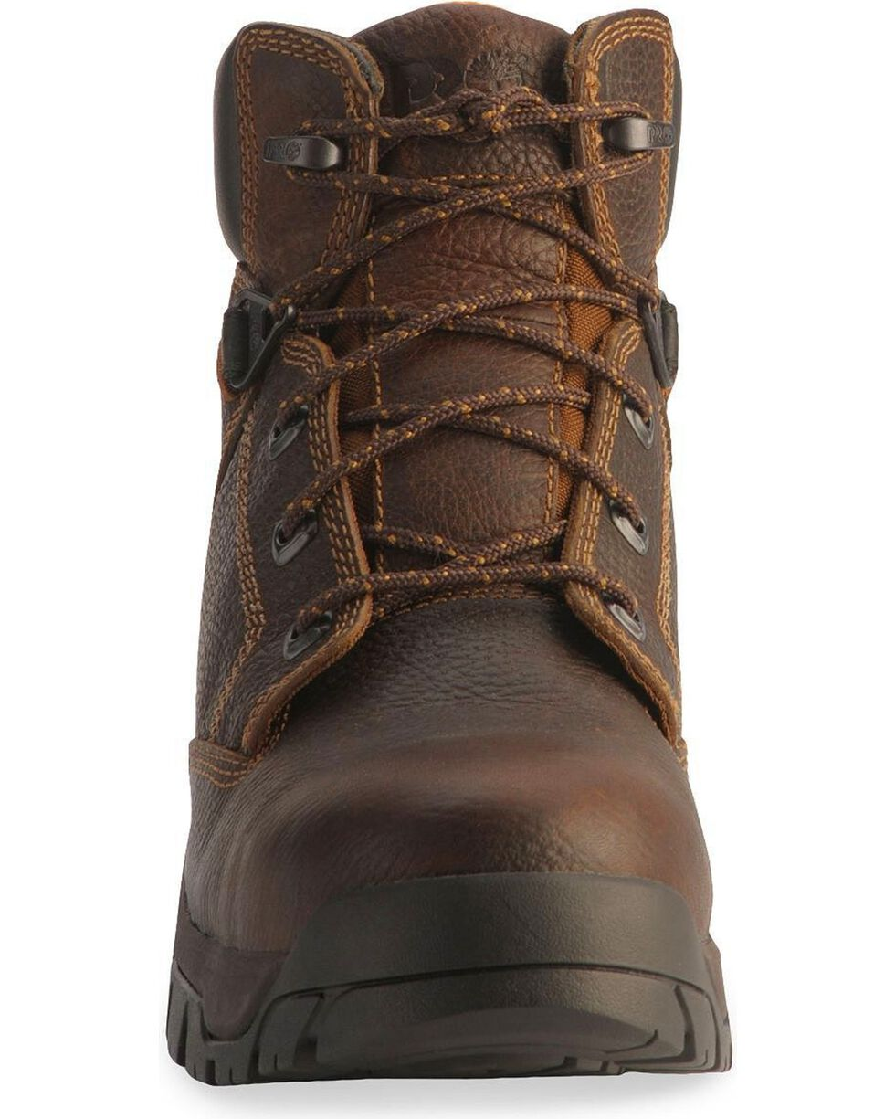 Timberland Pro Men's Helix Safety Toe Work Boots, Brown, hi-res