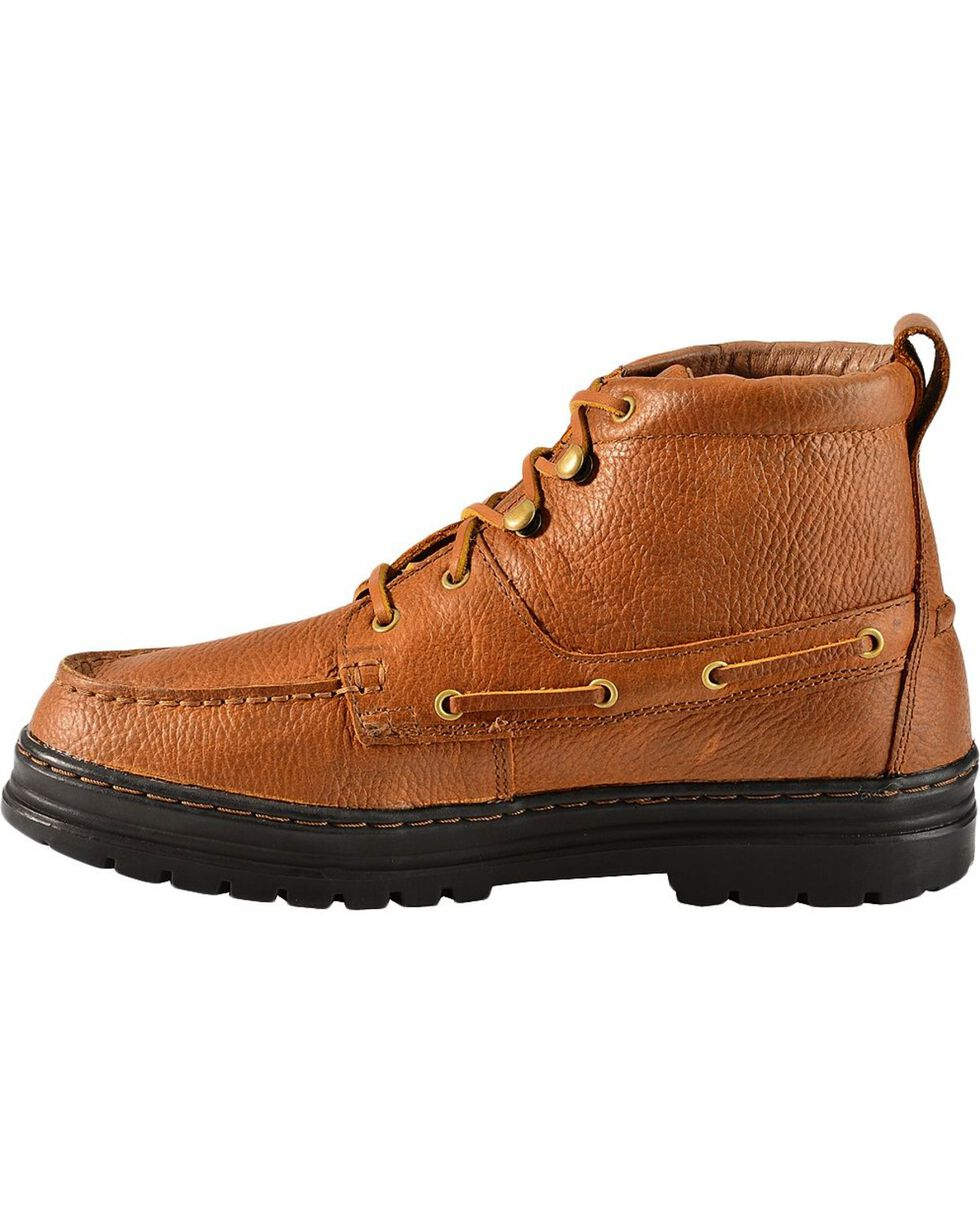 Justin Men's Casual Chukka Shoes, Copper, hi-res