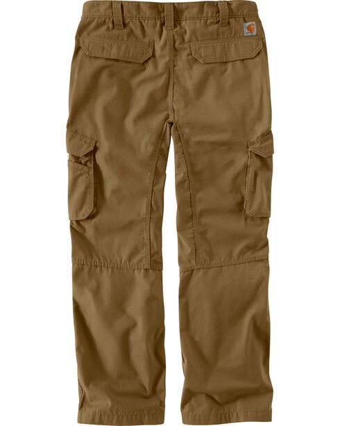Carhartt Men's Force Tappen Cargo Pants, Brown, hi-res