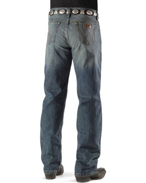 Wrangler 20X Men's Competition River Wash Boot Cut Jeans, Vintage Blue, hi-res