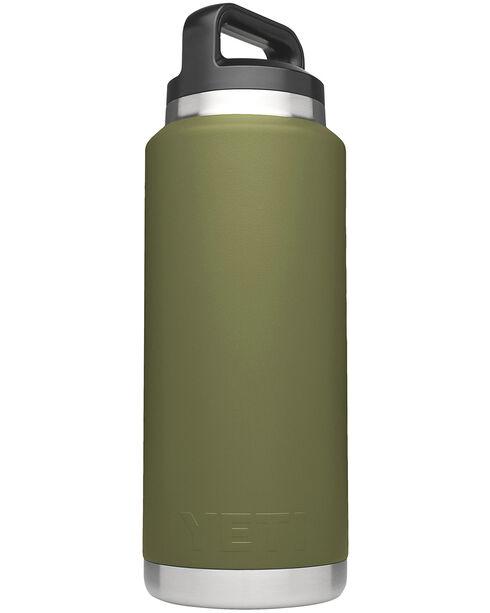 Yeti Olive Green 36 oz. Bottle Rambler , Olive, hi-res