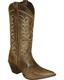 "Rawhide by Abilene 12"" Embroidered Classic Western Boots - Pointed Toe, , hi-res"