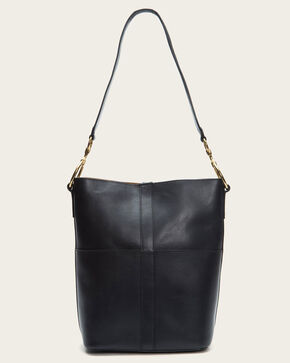 Frye Women's Black Ilana Harness Bucket Hobo Bag , Black, hi-res
