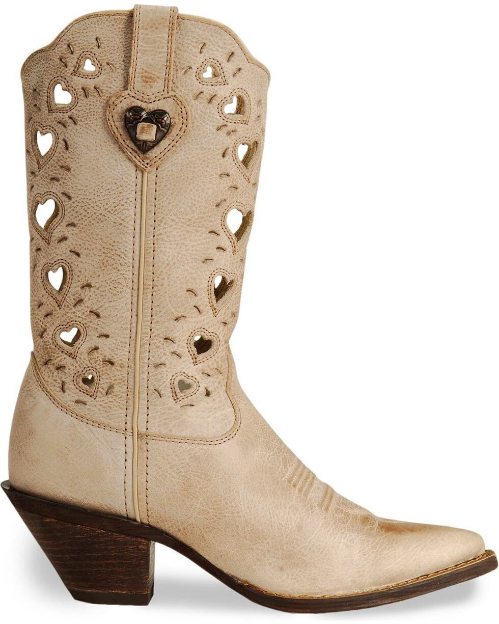 Durango Women's Crush Heartfelt Boots, Taupe, hi-res