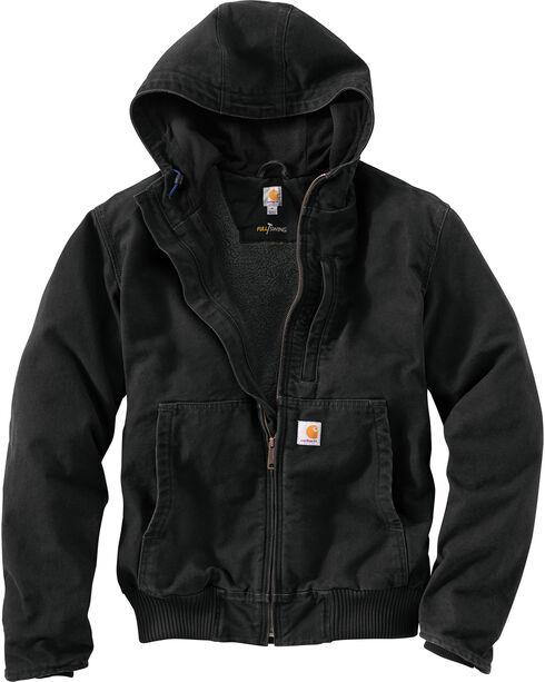 Carhartt Men's Full Swing Armstrong Jacket, Black, hi-res