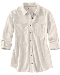 Carhartt Women's Long Sleeve Medina Shirt, , hi-res