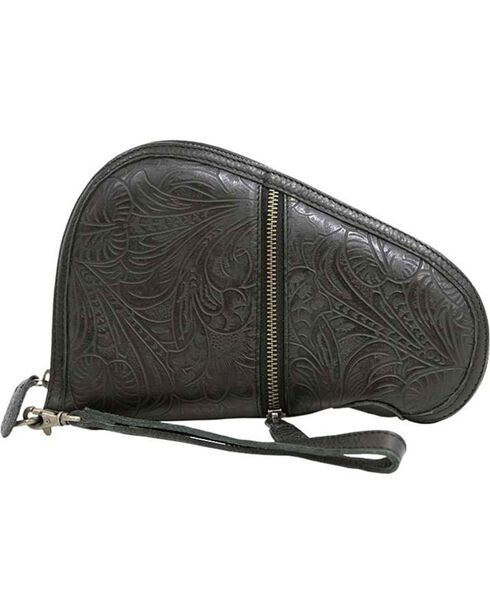 STS Ranchwear by Carroll Women's Floral Pistol Case , Black, hi-res