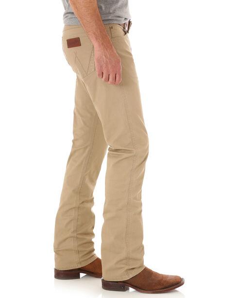 Wrangler Men's Straight Leg Jeans, Light Brown, hi-res