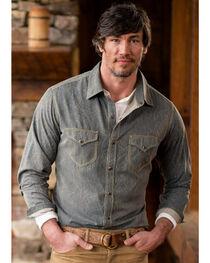 Ryan Michael Men's Spruce Paisley Jacquard Shirt , , hi-res