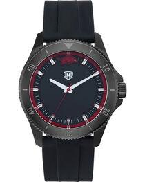 Jack Mason Men's Arkansas Blackout Silicone Watch , , hi-res