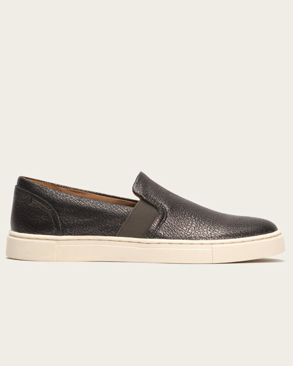 Frye Women's Pewter Ivy Slip-On Sneakers, Grey, hi-res