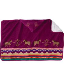 Pendleton Painted Pony Hooded Towel, , hi-res