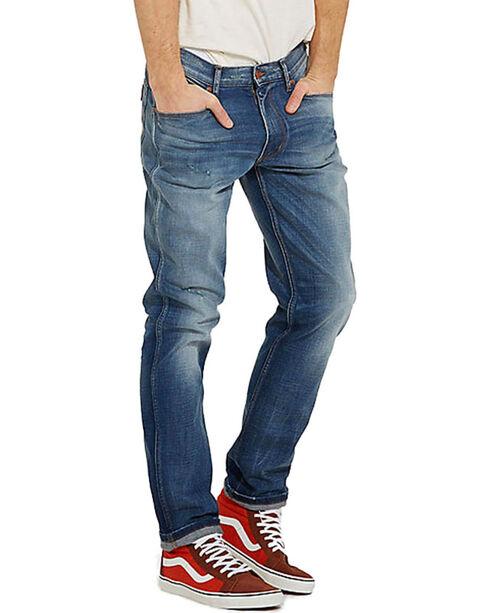Wrangler Men's 70th Anniversary Mid Glory Jeans, Blue, hi-res