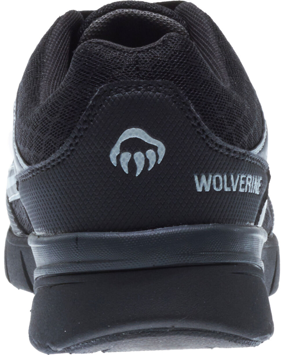 Wolverine Women's Jetstream Work Shoes - Composite Toe, Black, hi-res