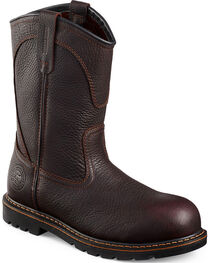 Red Wing Irish Setter Farmington Pull-On Work Boots - Aluminum Toe, , hi-res