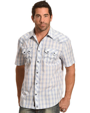 Moonshine Spirit® Men's Sonoita Creek Short Sleeve Shirt, White, hi-res