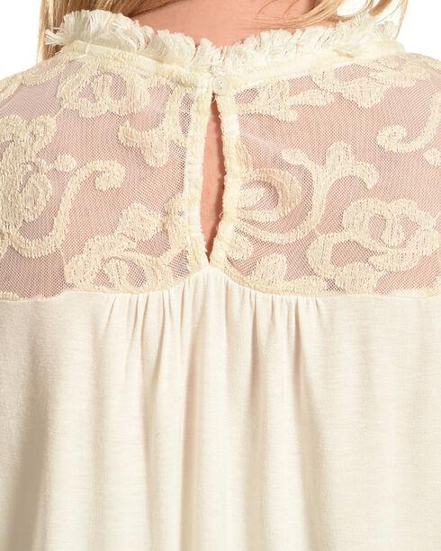 Petrol Women's Lace Sleeveless Top, Ivory, hi-res