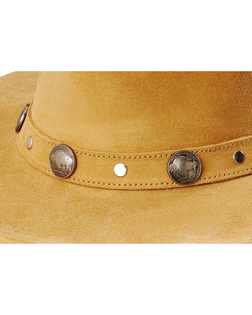 Minnetonka Buffalo Nickel Band Outback Hat, Tan, hi-res