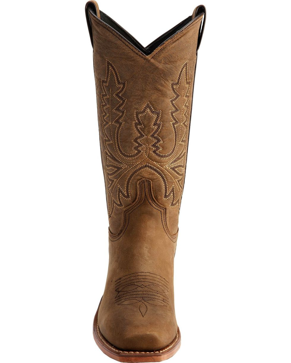 "Abilene Women's 11"" Western Boots, Olive, hi-res"