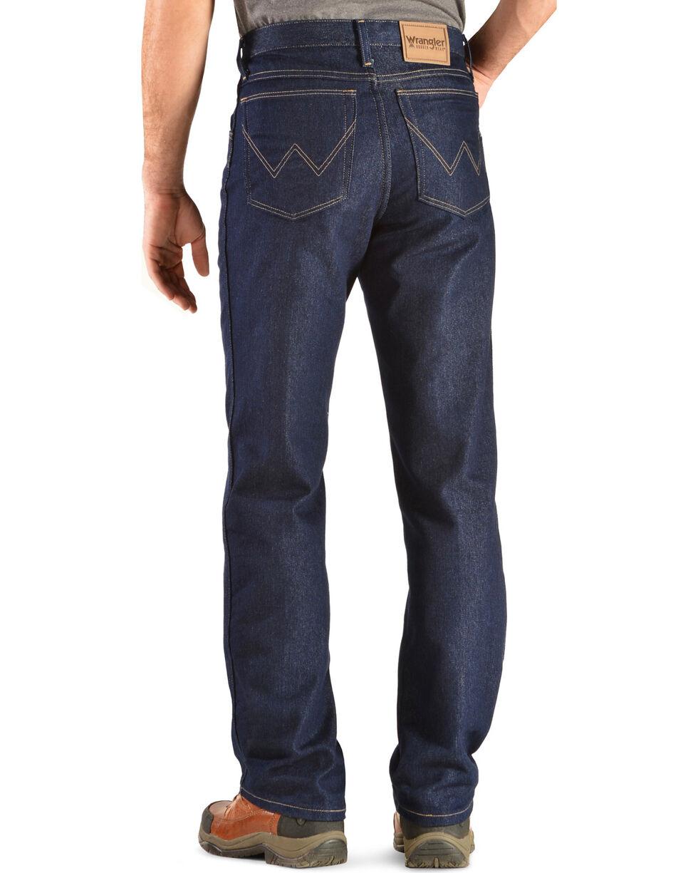 Wrangler Rugged Wear Stretch Regular Fit Jeans, Indigo, hi-res