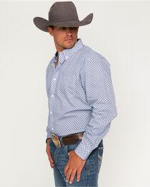 Cody James® Men's Tucson Geo Printed Long Sleeve Shirt, , hi-res