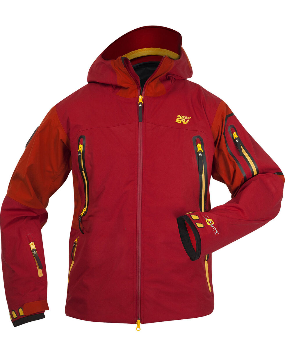 Rocky Men's Waterproof S2V Provision Jacket, Red, hi-res