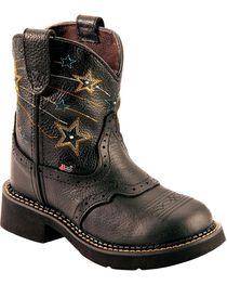 Justin Kid's Gypsy Star Western Boots, , hi-res