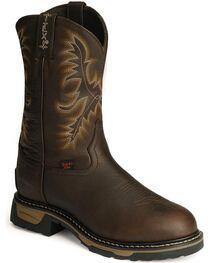 Tony Lama TLX Waterproof Pitstop Leather Work Boots - Steel Toe, , hi-res