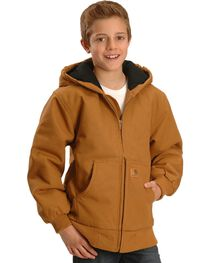Carhartt Boys' Duck Active Jacket 4-7, , hi-res