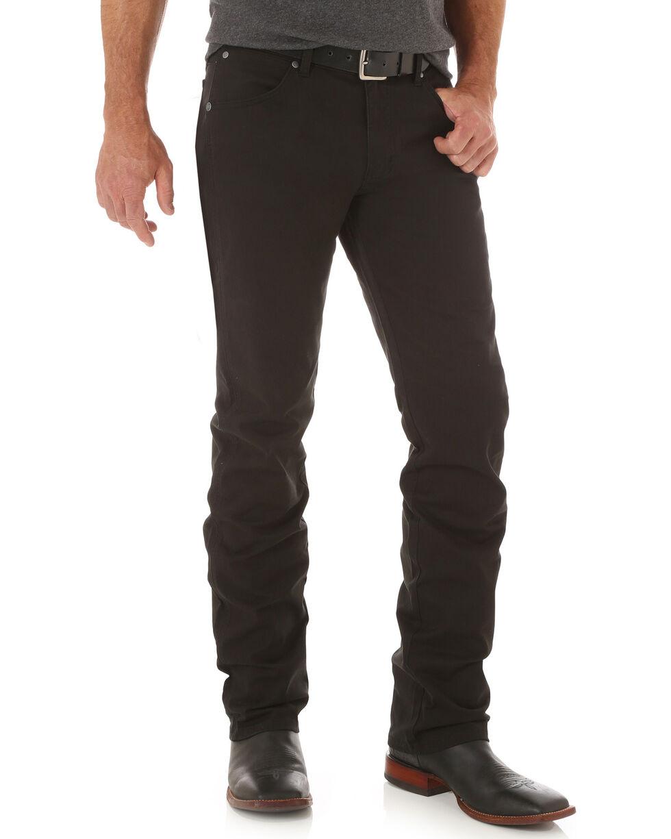 Wrangler Men's Straight Leg Jeans, Black, hi-res