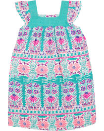 Shyanne® Girl's Floral & Lace Sleeveless Dress, , hi-res