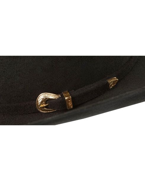 Justin 3X Durango Cattleman Western Hat, Black, hi-res
