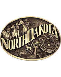 Montana Silversmiths North Dakota Buckle, , hi-res
