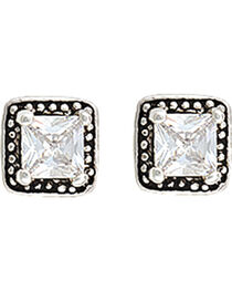 Montana Silversmiths Star Lights Western Princess Earrings, , hi-res