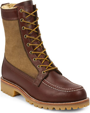 Chippewa Men's Shearling Hunting Boots, Tan, hi-res